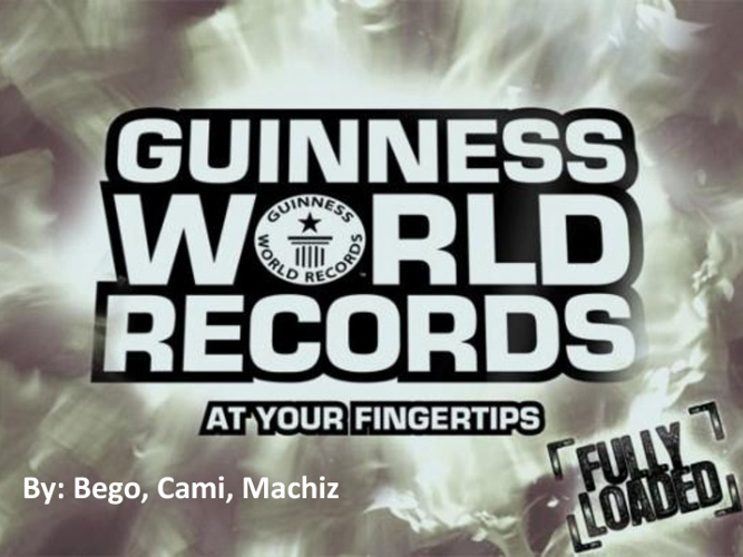 Records Guinness Photo Album