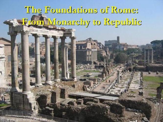 The Birth of Rome