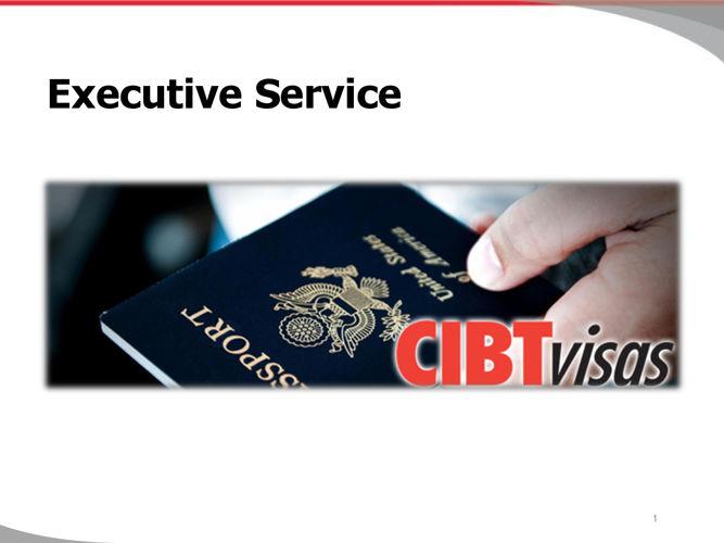 1. Executive Service - June 2016