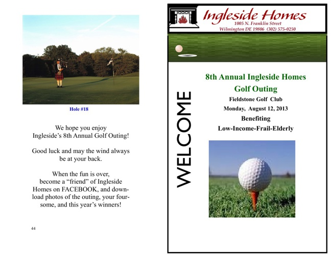 2013 Ingleside Homes Golf Outing