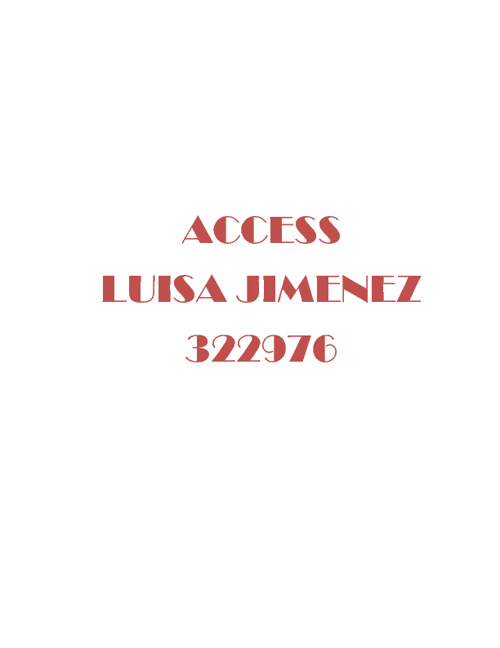 322976 consulta 1 Access Luisa Jimenez
