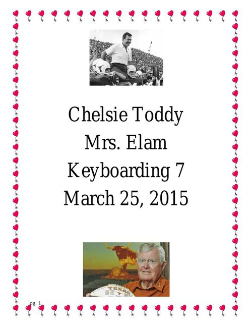 Chelsie Toddy