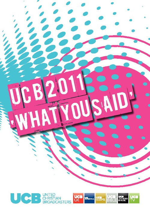 UCB 2011 - 'What you said'.