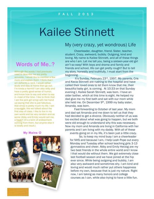 Kailee Stinnett's Flip