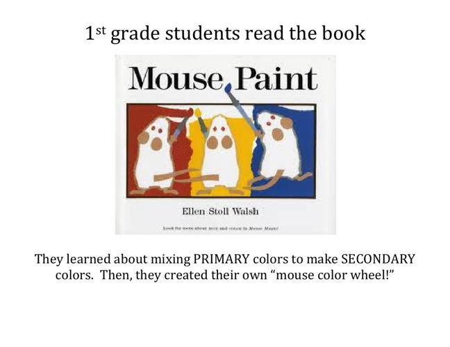 1st Grade - Mouse Color Wheels