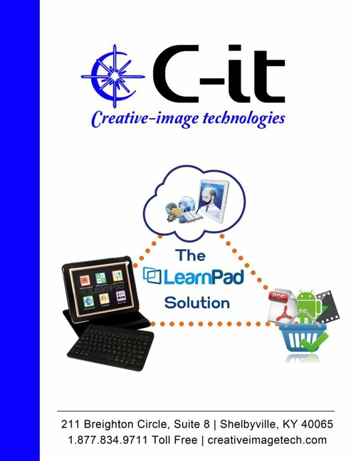 The LearnPad Solution by: C-it