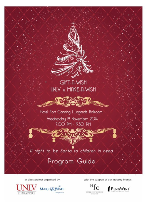UNLVS- TCA488 Gift-A-Wish Program Guide