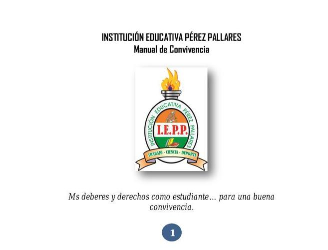 Manual de Convivencia IEPP