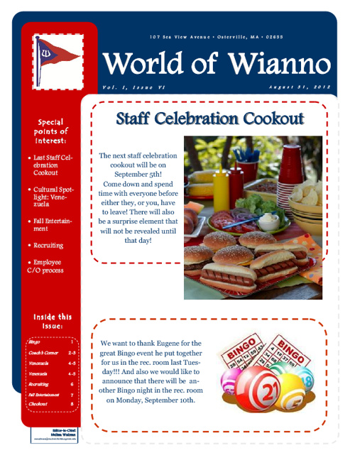 World of Wianno Vol. 1, Issue 6