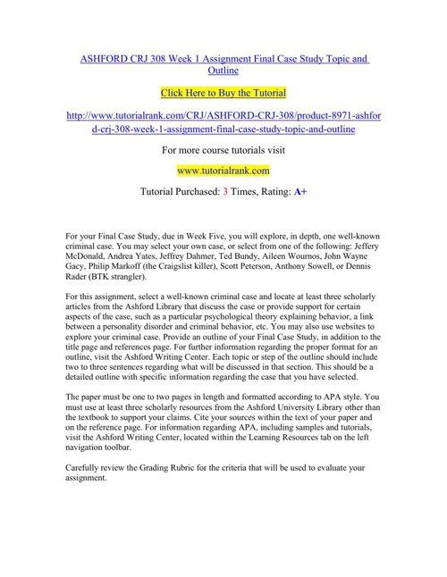 crj 308 final case study