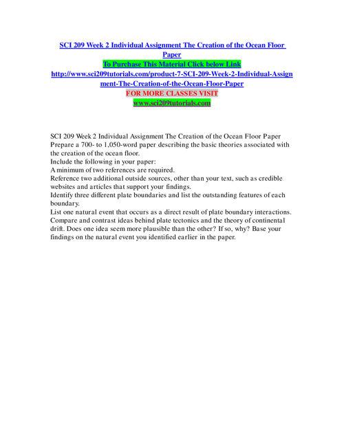 SCI 209 TUTORIALS Learn by Doing/sci209tutorials.com
