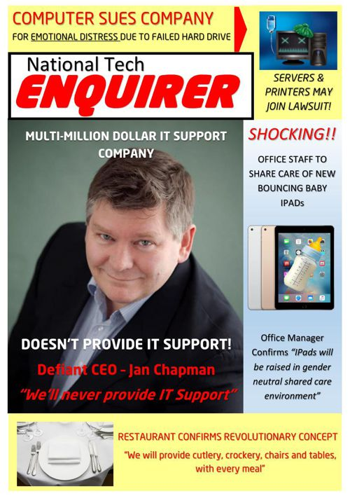 National Tech Enquier 4 Page Layout