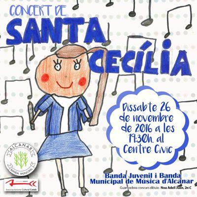FESTA DE SANTA CECÍLIA 2016 - BANDA MUNICIPAL D'ALCANAR