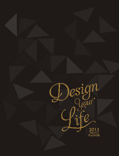 Design Your Life 2013 Planner