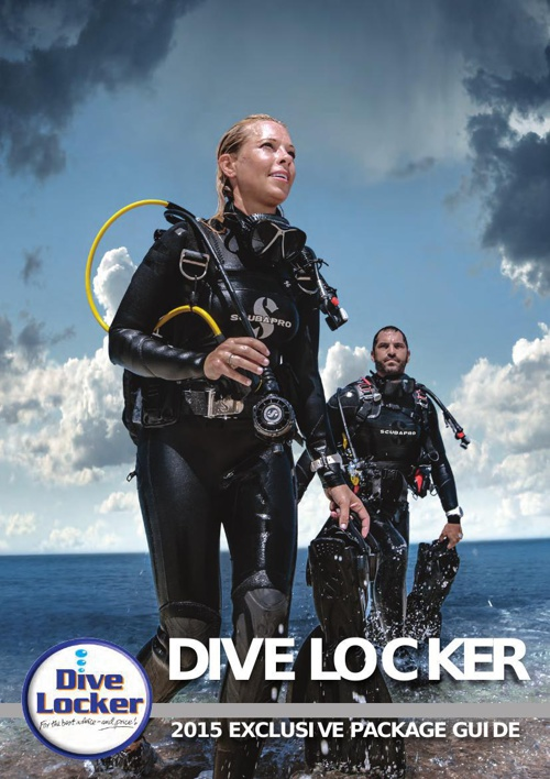 Dive Locker 2015 Exclusive Package Guide