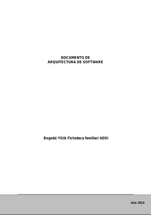 Documento de arquitectura YGIA V.2