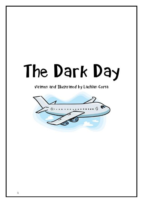 The Dark Day by Lachlan