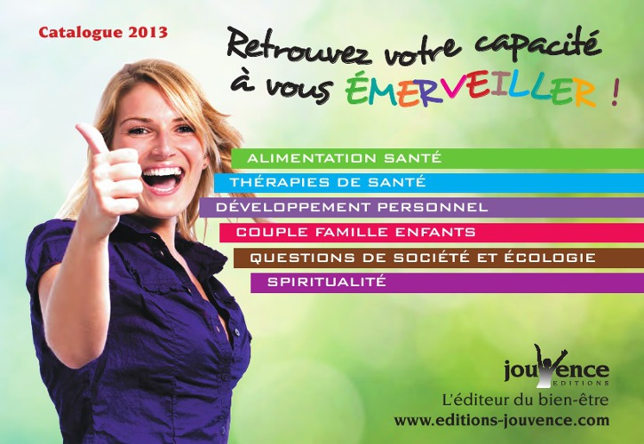 Catalogue 2013 Jouvence
