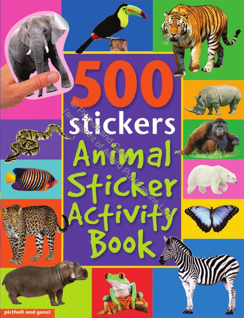 Bumper Sticker Activity Animals