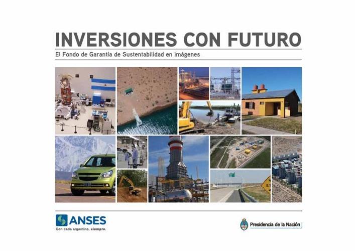 """Anses: Libro """"FGS - Inversiones con futuro""""."""