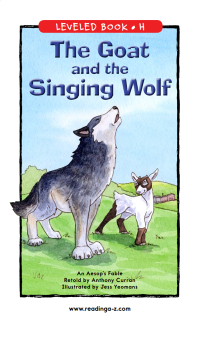 The Goat and the Singing Wolf