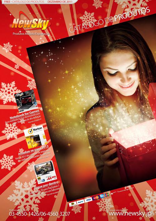 Catálogo de Produtos NewSky® - edição DEZ/JAN