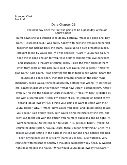 Dare Chapter 26