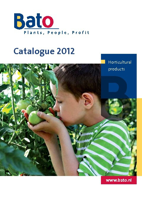 Bato - Catalogue 2012