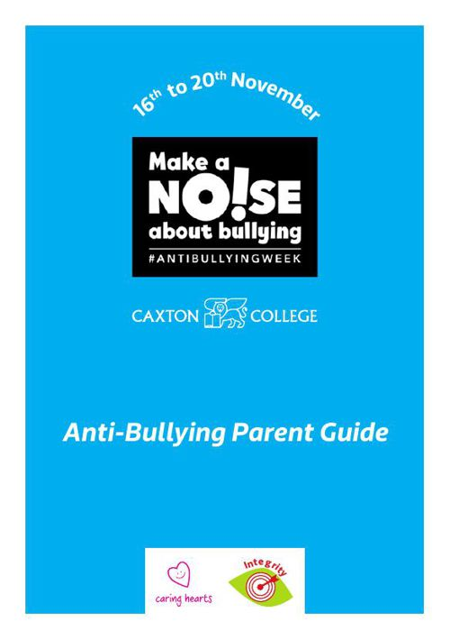 Anti-bullying Parent Guide - Primary