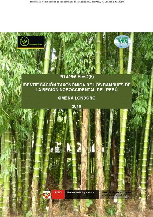 Identificación Taxonómica de los Bambúes en el Perú