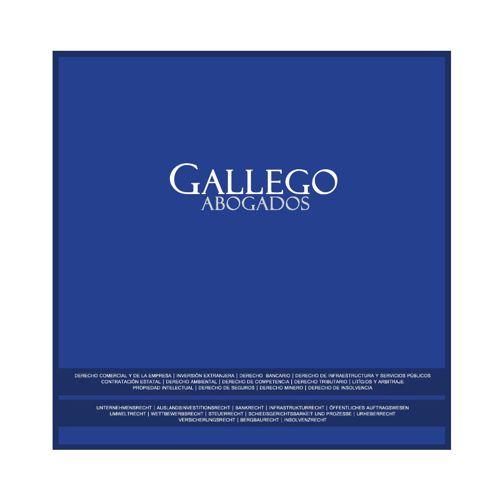 Brochure de Gallego Abogados