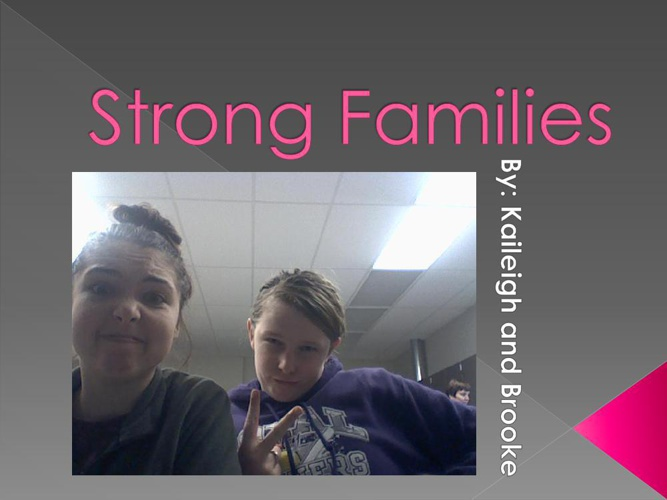 Strong Families Powerpoint