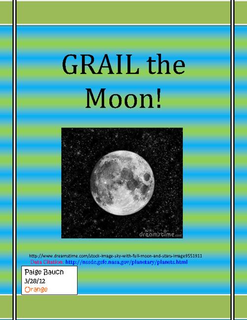 GRAIL the moon