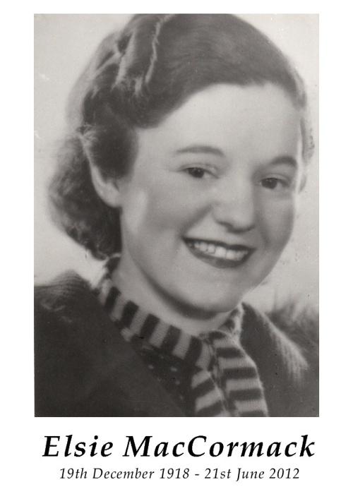 Elsie MacCormack