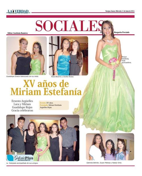 SOCIALES  11 JUNIO 2014