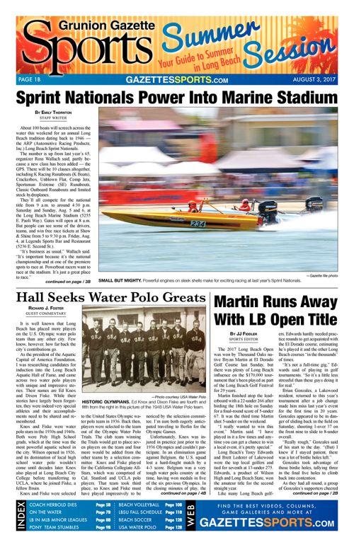 Gazette Sports | 8-3-17