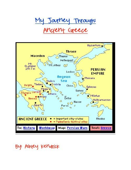 My Journey Through Ancient Greece