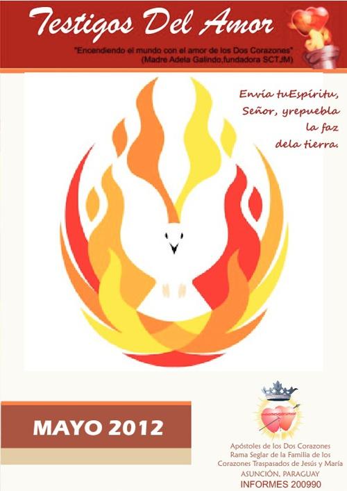 Revista TESTIGOS DEL AMOR - Mes de Mayo 2012