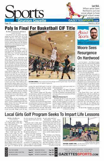 Gazettes Sports 3-6-14