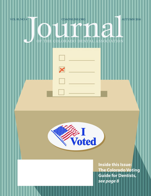 Fall 2016 Journal of the Colorado Dental Association