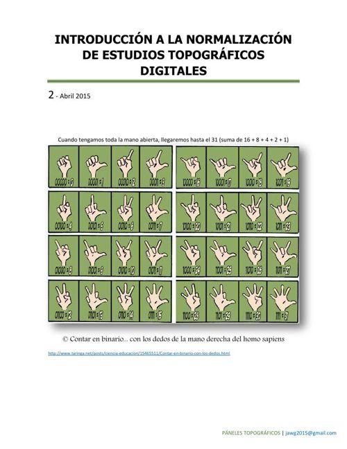 2 ABRIL 2015 INTRODUCCIÓN A LA NORMALIZACIÓN DE ESTUDIOS TOPOGRÁ