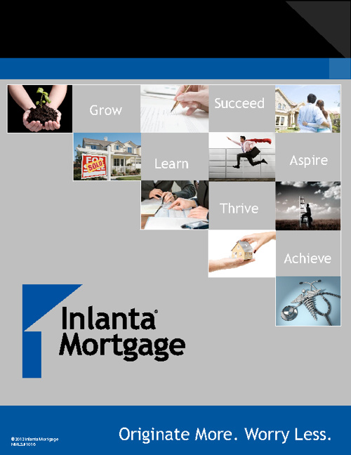 Inlanta Mortgage - Originate More. Worry Less.