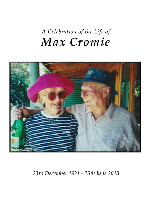 Max Cromie