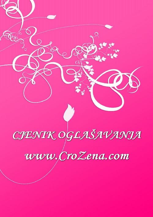 Cjenik portala www.crozena.com
