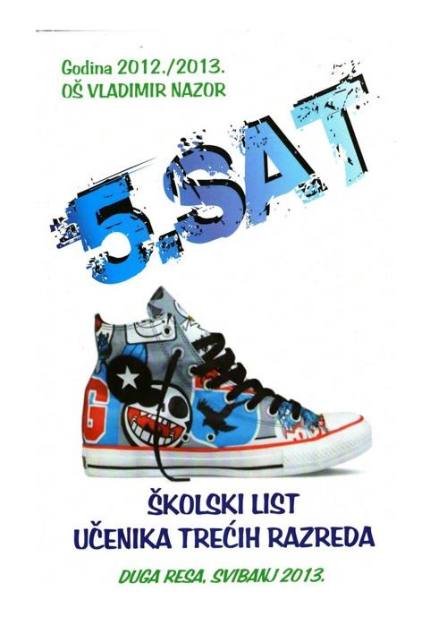 5. SAT - školski list