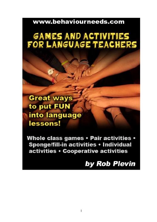Games & Activities for Language Teachers