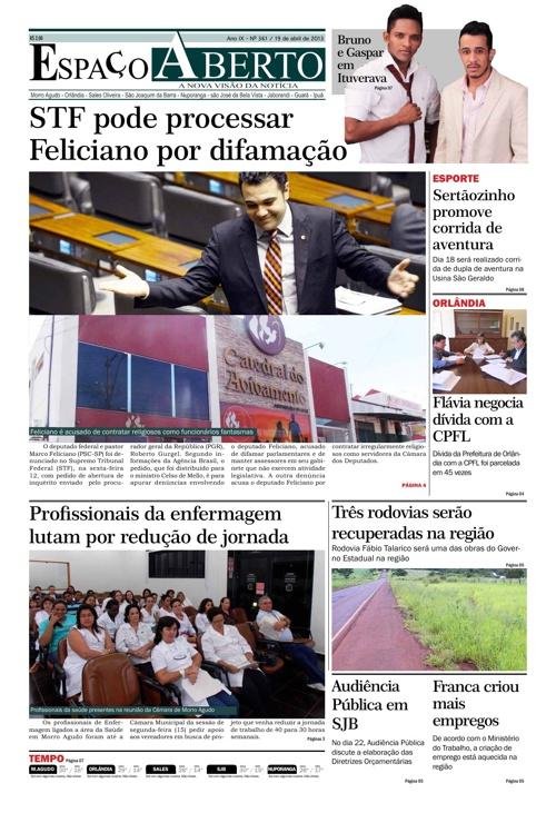 Jornal Espaço Aberto - edição 361