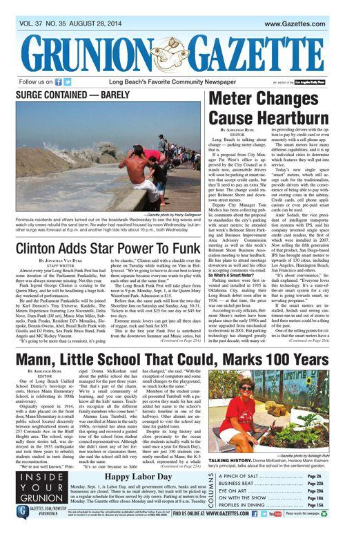 Grunion Gazette | August 28, 2014