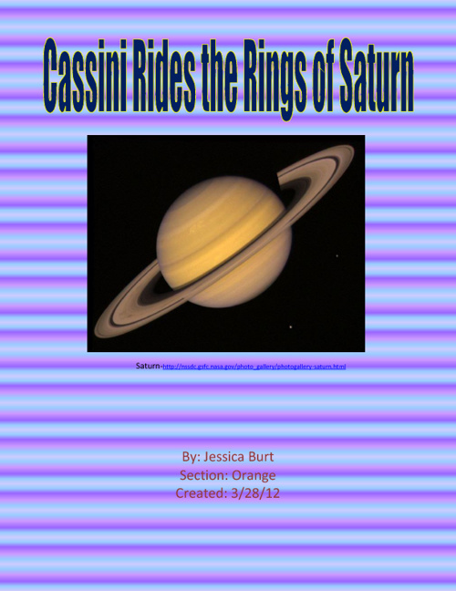 Cassini Rides the Rings of Saturn