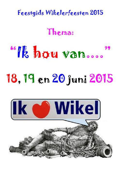 Feestgids Wikelerfeesten 2015